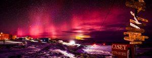antarctic aurora casey