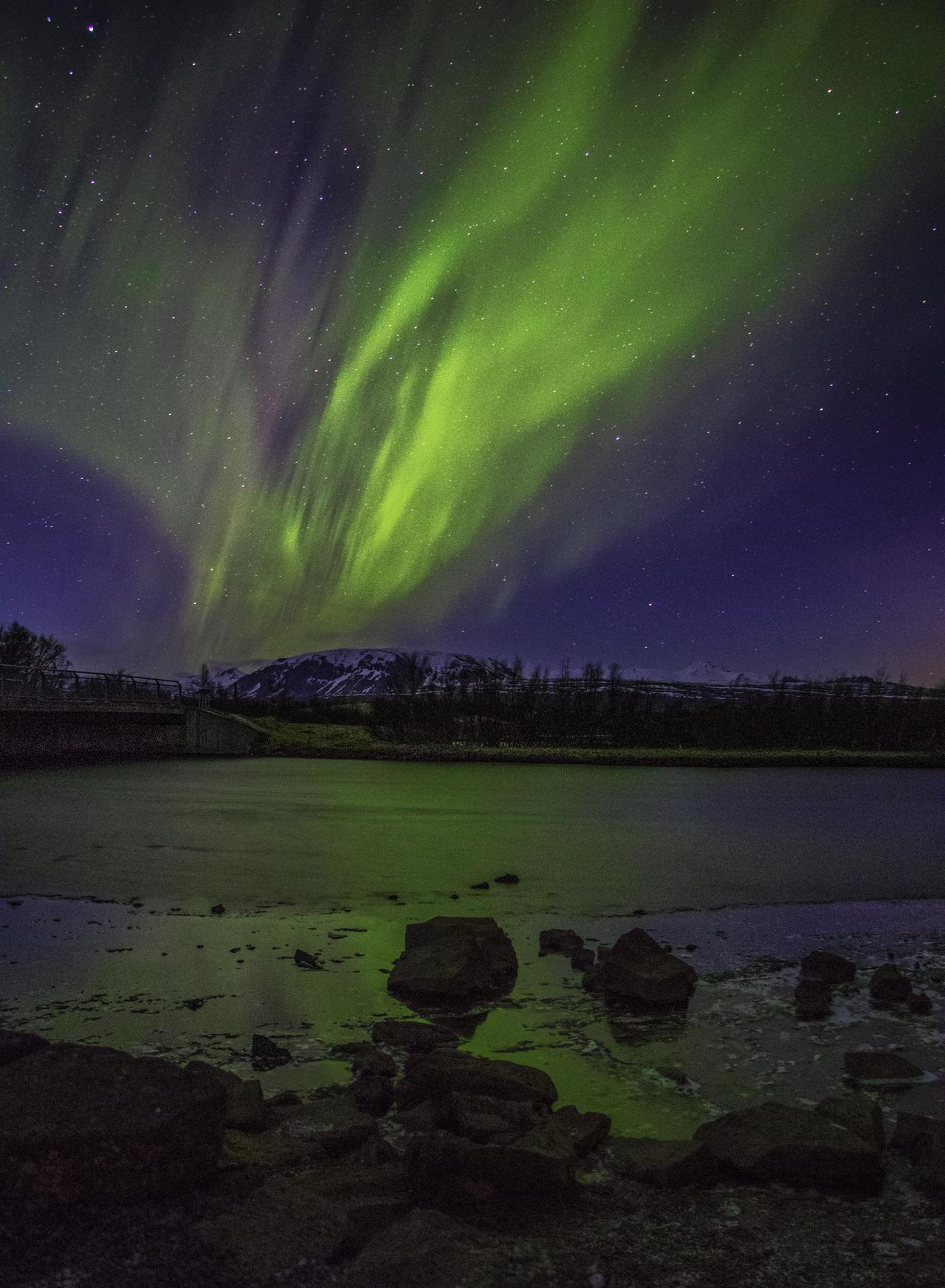 Green aurora